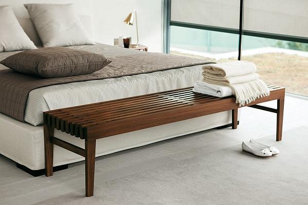 Avete mai pensato di usarne una ai piedi del letto?