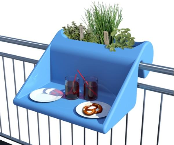 Innovativo poggiolo hi-tech per balconi