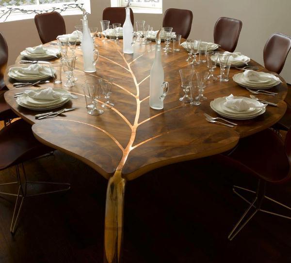 Incredibile tavolo foglia
