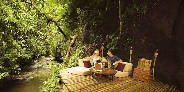 Soggiorno del Hotel Ubud Hanging Gardens,Indonesia