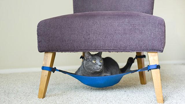 Cat Crib è un modo geniale per tenere in ordine la casa