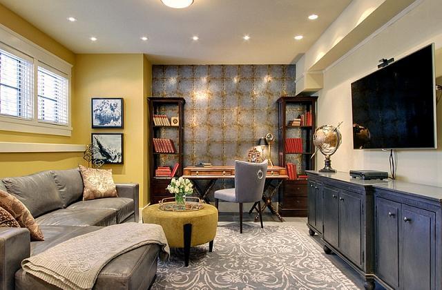 il seminterrato e la cantina è uno dei luoghi più sfavorevoli non solo per installare un ufficio, ma anche per viverci