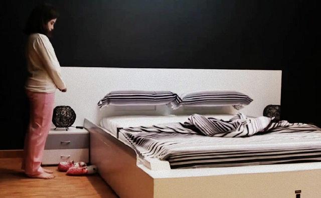 Il letto che si rifà tutto da solo