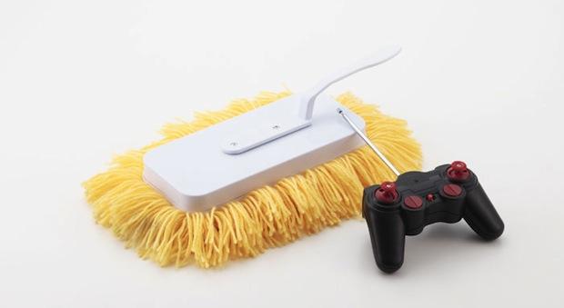 Il robot radiocomandato per le pulizie