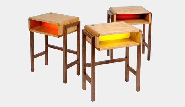 Night Light Table - comodini luminosi