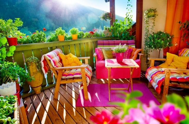 Arredare il terrazzo di casa con pochi soldi - Arredare la casa con pochi soldi ...