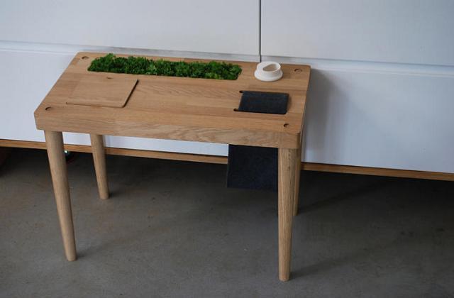 L 39 orto casalingo da tavolo alternativo for Arredamento alternativo
