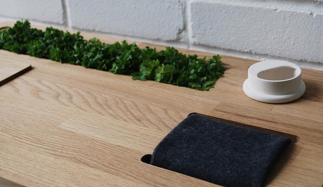 Eat Play Grow, il tavolo su cui coltivare un orto