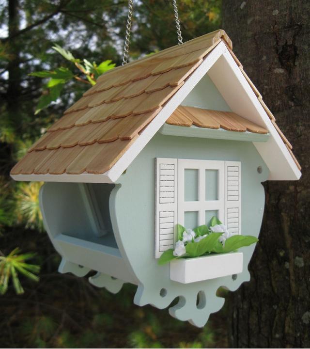 Creare le casette per gli uccellini con il fai da te for Casette per conigli fai da te