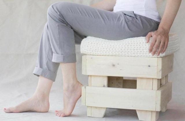 Craft Pouf, creare con i pallet by LorenDesign