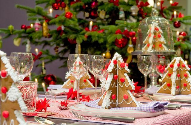 Come decorare la tavola a Natale