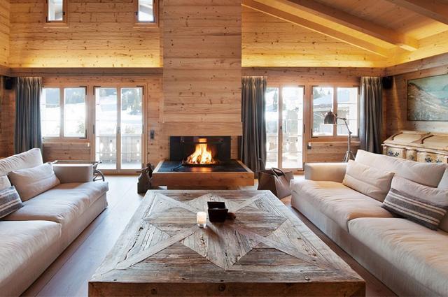 Trasformare la casa in uno chalet di montagna for Chalet arredamento