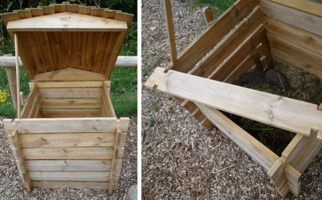 Compostiera fai da te: come costruirla