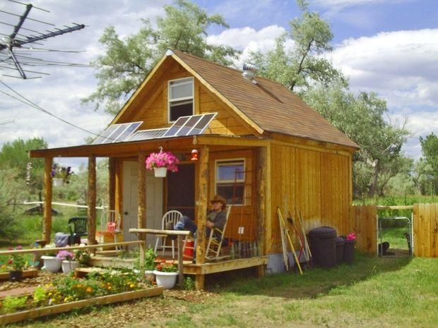 Una casa da 18mq costruita con 2.000 euro