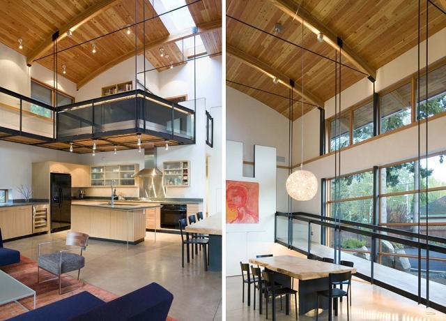Cucina Soffitti Alti : Come arredare una casa con i soffitti alti pagina di