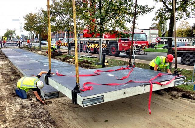 La pista ciclabile solare in grado di produrre elettricità per 3 abitazioni