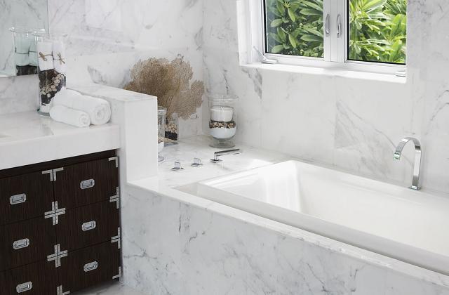 Marmo e pietre naturali per il bagno