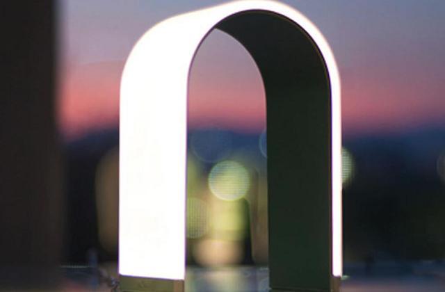 Un'elegante lampada LED premiata per il design