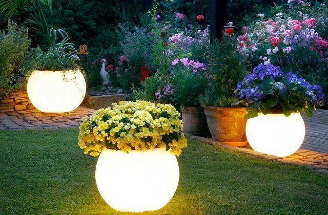 Illuminare il giardino a costo zero pagina di