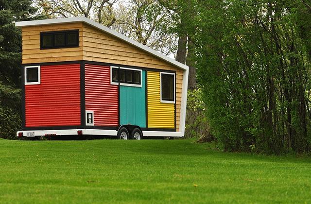 La piccola casa mobile che nasconde interni da sogno