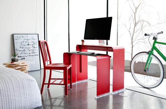 OneLessDesk, la scrivania