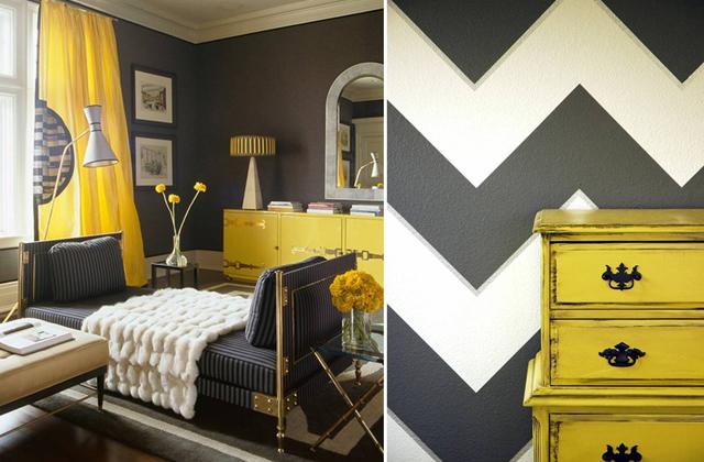 contrasto parete mobili