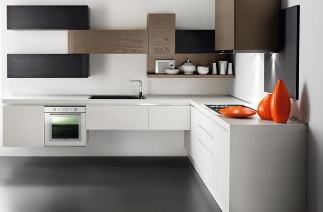 Scegliere la cucina ad angolo adatta alla propria casa