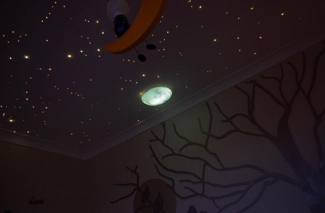 cielo stellato in casa
