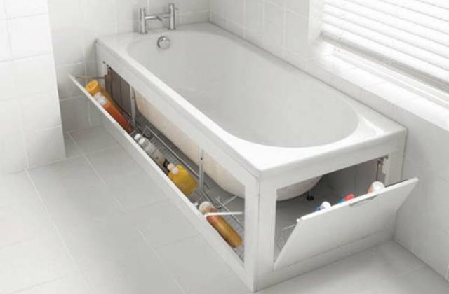 Spazi ristretti 7 idee per arredare un bagno piccolo pagina 2 di 4 for Bagno piccolo con vasca