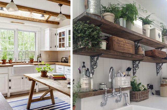 Idee originali per una cucina in stile country pagina 3 di 5 - Cucina stile vintage ...