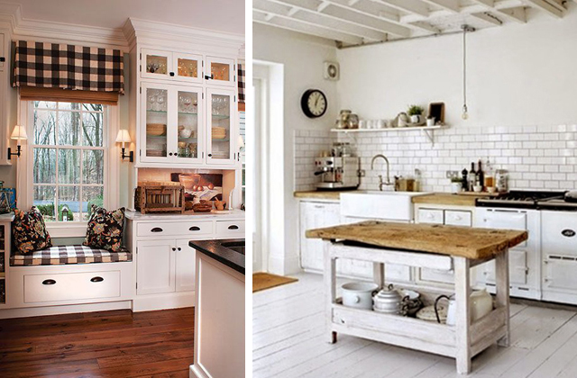 Stampe Per Cucina Country : Idee originali per una cucina in stile country pagina di