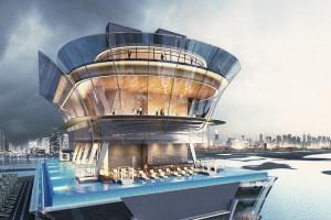 A Dubai la piscina più in alto al mondo