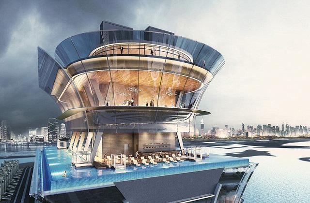 The St Regis Hotel di Dubai