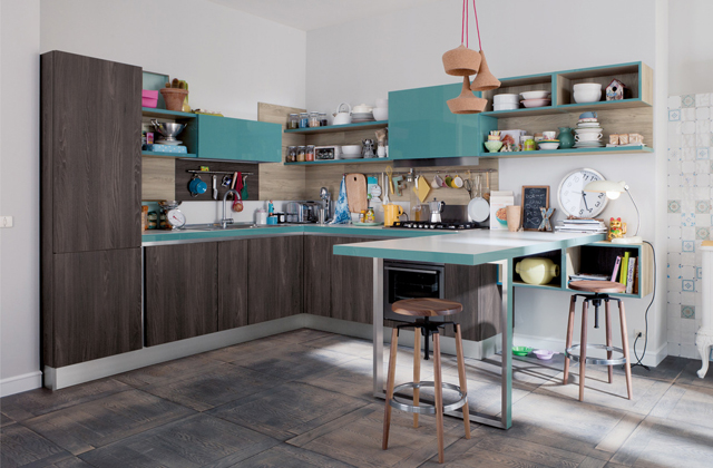 Arredare una cucina a vista: idee ed esempi di arredamento