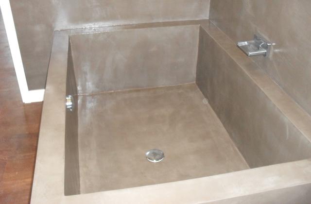 Vasca Da Bagno In Cemento : Il bagno con una vasca di cemento pagina di