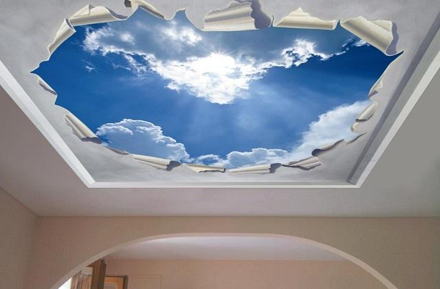 Idee per decorare il soffitto a cui non avevate pensato - Decori camera da letto ...