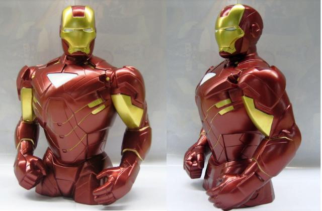 salvadanaio iron man