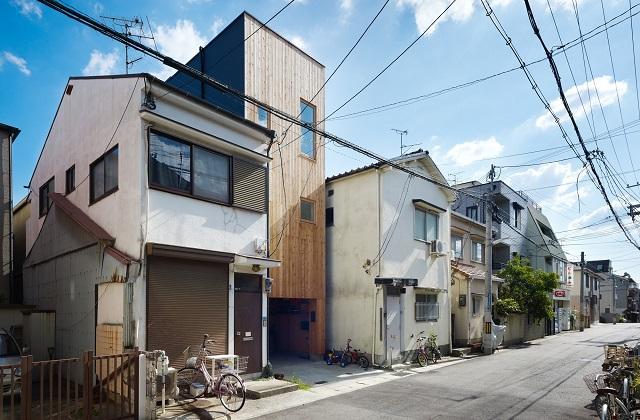 Una mini casa giapponese di soli 36 metri quadrati