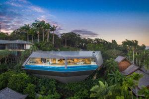Una magnifica villa a forma di astronave in Australia
