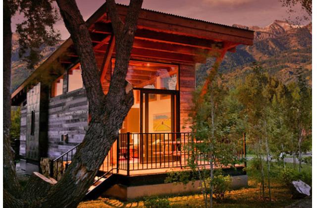 bungalow in legno americano