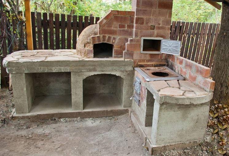 Come realizzare un caminetto per esterno per abbellire il giardino - Caminetto per esterno ...