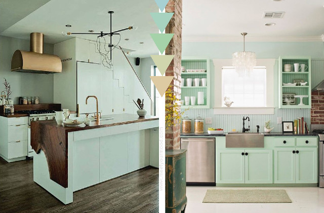arredamento color Tiffany