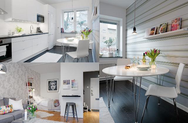 mini appartamento stile anni Quaranta