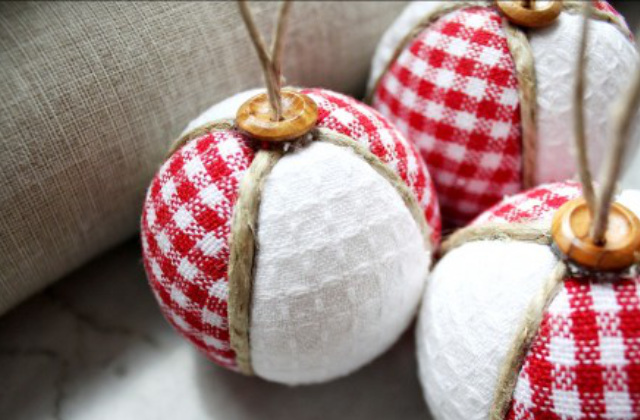 palline natalizie fai da te