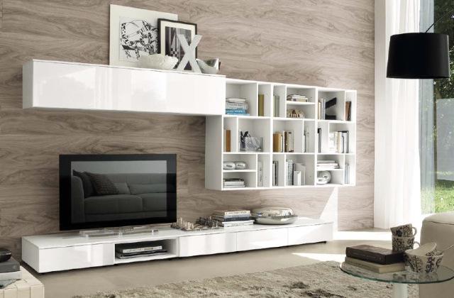 parete con tintura effetto legno