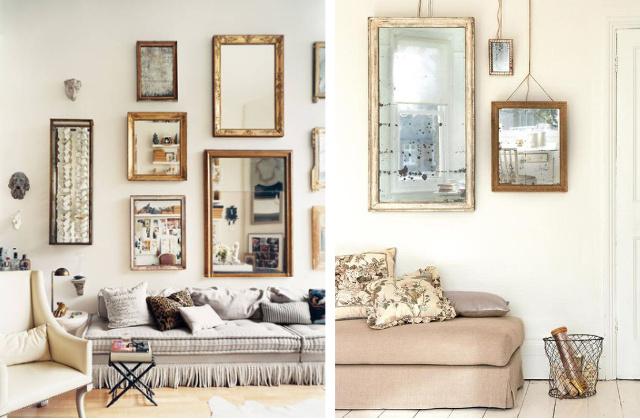 Arredare casa con gli specchi idee e consigli utili - Arredare con specchi ...
