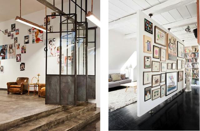 divisorio in casa moderno