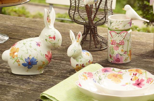 coniglietti pasquali dipinti