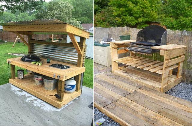 Outdoor Kitchen Furniture Uk