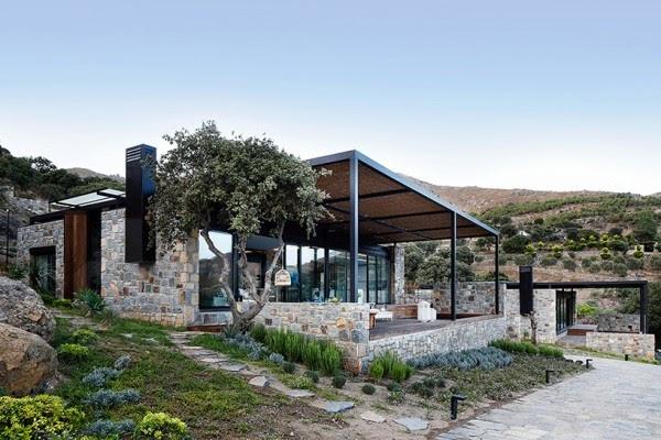 villa moderna in Turchia